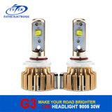 Des Auto-LED des Scheinwerfer-6000k Scheinwerfer-Birne Konvertierungs-Installationssatz-der Lampen-G3 30With3200lm 9005 des Auto-LED mit 18 Monaten Garantie-
