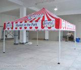 折る専門の展示会アルミニウムおおいの玄関ひさしか望楼のテントを広告する