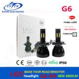 최고 밝은 Hi/Lo LED 헤드라이트 48W 4800lm LED 헤드라이트 H1 H3 H4 H7 H8 H13 9004는 9005 9006 9007 숨겨지은 크세논 장비를 대체한다