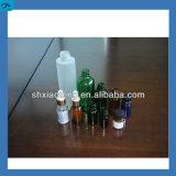 4 frasco de vidro líquido cabeças de enchimento e máquina de nivelamento