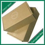 Correo plegable de tamaño pequeño Caja de papel con impresión de logotipo
