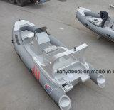 Liya 19ft Militärrippen-Boot für Verkaufs-aufblasbares Gummiboot