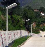 15W/20W/30W/40W/50W/60W/80W/100W/120W Solar Sensor de movimiento al aire libre todo-en-Uno/LED integrado Calle Jardín de Luz