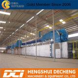 Frente de papel automático Línea de producción de placa de yeso