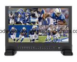 """4K 3840X2160 Sendungs-Vierradantriebwagen-Bildschirmanzeige-Quadrat LCD volles HD HDMI kleines 17.3 """" TFT LCD"""