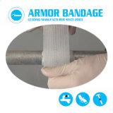 Schwarzer Rohr-Verlegenheits-Band-Rüstungs-Verpackungs-Band-Verband-schnelles Masseverbindung-Band