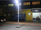60W a Solar Tudo em Um LED de luz da rua luz de rua com marcação RoHS aprovado