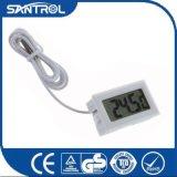 La refrigeración parte el pequeño termómetro de Digitaces