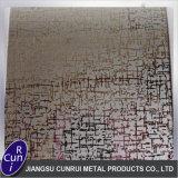 201 202 304 316L che incidono il piatto decorativo dell'acciaio inossidabile