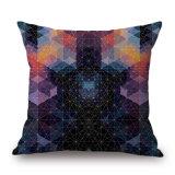 A roupa de algodão geométricas coloridas impressas Digital capa do assento sem recheio (35C0153)