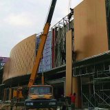 Revestimiento de polvo de aluminio de alta resistencia Anti-Seismic el revestimiento de paneles de pared para la decoración mural interior/exterior