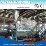 PP/PE Flaschen-Flocke, die Zeile/Plastikwaschmaschine mit entwässernmaschine aufbereitet