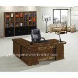 Hölzerner Möbel-Luxuxbüro-Tisch-Executivschreibtisch mit seitlichem Tisch Yf-2062