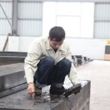 Chapa de aço inox AISI D3, D3 de Uso Especial Barra plana de aço
