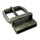 A curvatura de correia do Pin da curvatura do rolo da liga do zinco do metal da alta qualidade para o vestido cerca as bolsas das sapatas do vestuário (XWS-ZD152)
