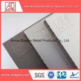 Matériau de construction Panneau alvéolé pour façade en aluminium