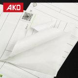 China-Lieferanten-wasserdichtes weißes Pergamin-Zwischenlage-Verschiffen-Kennsatz-thermisches Papier