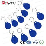 125 kHz de la etiqueta RFID de llavero ABS clave para el Control de acceso