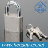 Yh1112 trempé de sécurité de fer cadenas avec trois principaux