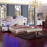 Schlafzimmer-Möbel stellten mit König Bed und Schrank ein (6616)