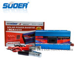 Invertitore 12V 220V dell'automobile di Suoer 1200W con la Anti-Riserva (SAA-D1200AF)