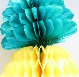 Pañuelo de papel pelota Panal con coloridos, linterna de panal.