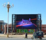 Haute luminosité des écrans publicitaires de plein air P 6 avec un poids léger de panneau à LED 768 x 768 mm
