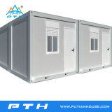 Moderna casa contenedor portátil prefabricado de lujo