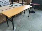 나무로 되는 사무실 책상 훈련 책상에 의하여 접히는 테이블 (SF-06F)