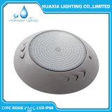 Cor Branco brilhante cheio de resina Piscina debaixo de luz LED