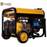generador eléctrico portable de la gasolina del comienzo 170f 3.5kw con las ruedas
