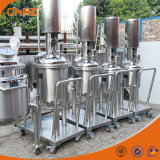 Precio eléctrico o el tanque de mezcla vestido del doble del acero inoxidable de la calefacción de vapor con el mezclador