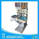 Cuatro de la copa de tinta de color de la máquina de tampografía Tampo/máquina de impresión