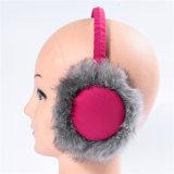 冬の防音保護具の毛皮のイヤーマフ