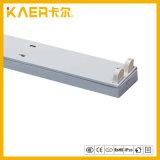Corchete ligero doble de T8 LED/sostenedor ligero del tubo del sostenedor