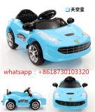 Conduite de modèle de Porsche sur le véhicule électrique d'enfants de jouets avec R/C
