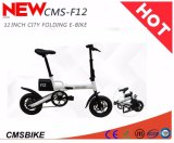 12 Zoll-Fahrrad-Lithium-Batterie-Aluminiumlegierung-elektrisches Fahrrad