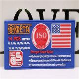 Insigne L'étiquette Patch Logo de silicone, caoutchouc PVC de marque, de l'insigne de caoutchouc de silicone Patch brade