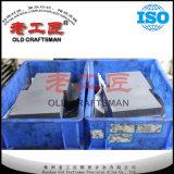 ISOの証明書が付いている型の部品のための炭化タングステンの版