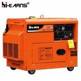 комплект генератора красного цвета 4kw молчком тепловозный (DG5500SE)