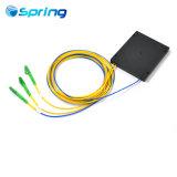 1 Fibra óptica*2 Divisor PLC com LC APC ficha