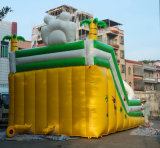 상업적인 거대한 팽창식 물 미끄럼 정리