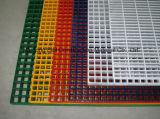Il comitato stridente della vetroresina, i passaggi pedonali di GRP, FRP/Glassfiber ha modellato la grata