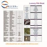 28 ' Hypalon/FRP Luxuxrippen-aufblasbare Boote hergestellt in China