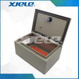Caixa de distribuição da caixa do cerco da montagem da parede