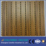 Da madeira de madeira decorativa da placa da parede painel acústico
