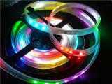 Цветной цифровой индивидуально WS2812b водонепроницаемый DC5V 60 LED/м газа привело