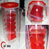 Plexiglas en Perspex, de Duidelijke AcrylDoos van de Vertoning van het Plexiglas