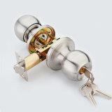 De aço inoxidável de alta qualidade trava do botão cilíndrica