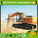 China frente caliente de venta de maquinaria de la excavadora sobre orugas Sy220c